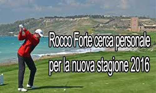 Il Verdura Golf Resort di Sciacca cerca personale per il 2016