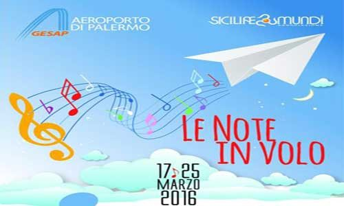 All'aeroporto di Palermo una settimana di concerti