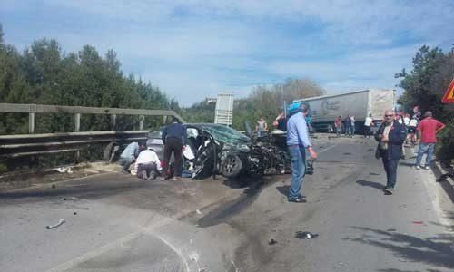 Grave incidente sulla ss 640 Caltanissetta – Agrigento