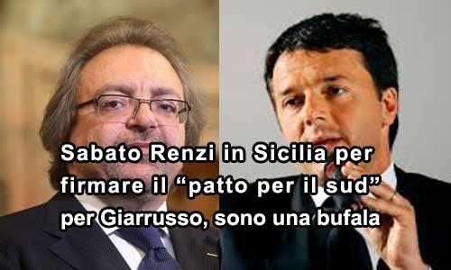 """Per Giarrusso i Patti di Renzi sono """"Bufale"""", ma c'è chi banchetterà"""