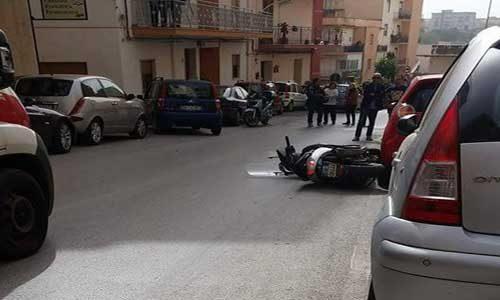 Grave incidente ieri pomeriggio in via Madonna della Rocca: coinvolta una novantenne