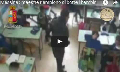 Tre maestre schiaffeggiano i bambini:  incastrate dal video