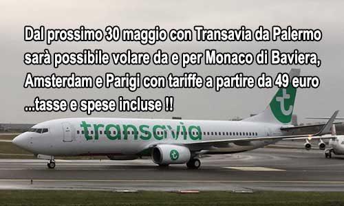 Finalmente nuovi voli da Palermo per: Monaco, Amsterdam e Parigi