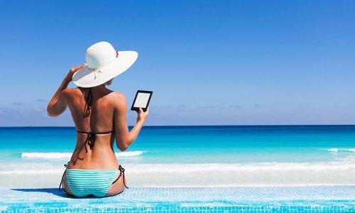 Letture in vacanza: L'ebook sorpassa il libro cartaceo