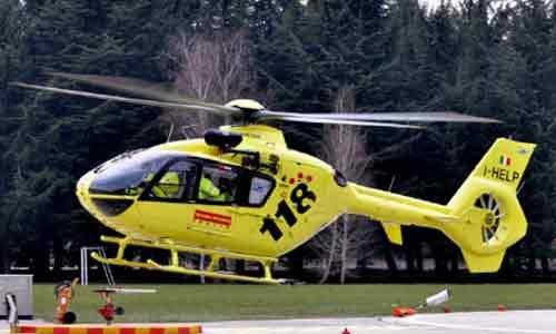 Grave incidente sulla SS 115: un trentenne trasportato in elisoccorso al civico di Palermo