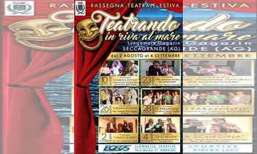 Teatrando in Riva al Mare a Seccagrande