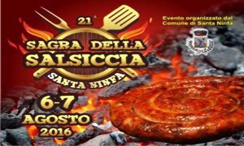 21° edizione, Sagra della Salsiccia, Santa Ninfa (TP)