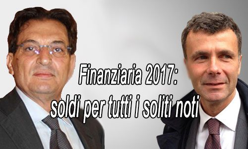 Il prossimo anno si vota: pioggia di soldi su precari, formazione e dipendenti regionali: ecco la Finanziaria siciliana 2017