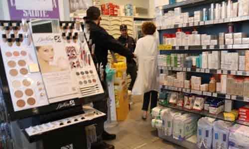 Rapina a mano armata in una farmacia di Calamonaci