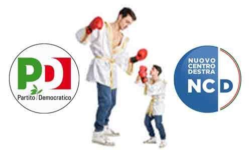 """PD contro NCD: """"Sono dei nani che si credono giganti"""""""