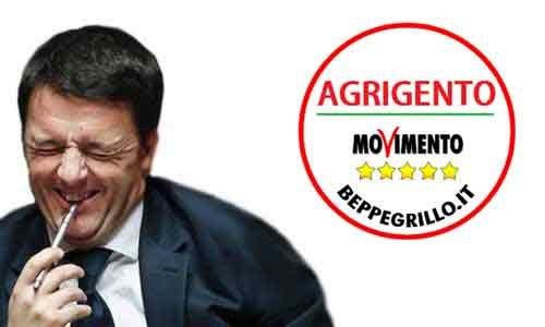 "Renzi ad Agrigento. M5S: ""Restati a casa"""