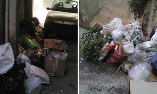 """La discarica  in Vicolo Francipane """"aumenta"""":  amminastrazione comunale cercasi"""