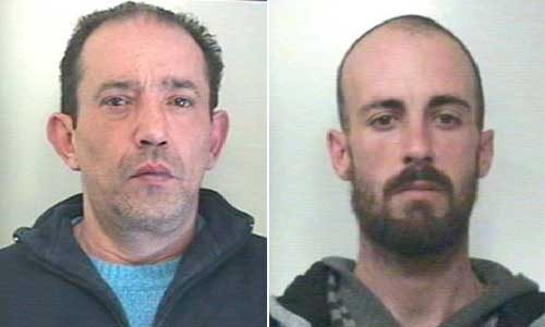 I Carabinieri arrestano i rapinatori della Tabaccheria Valenti e della Farmacia Ragusa di Calamonaci -Video