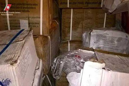 Maxi sequestro di prodotti ittici congelati in un'azienda di Santa Margherita