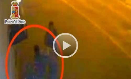 Aggrediscono e rapinano un disabile: due gli arrestati, incastrati da un filmato – VIDEO