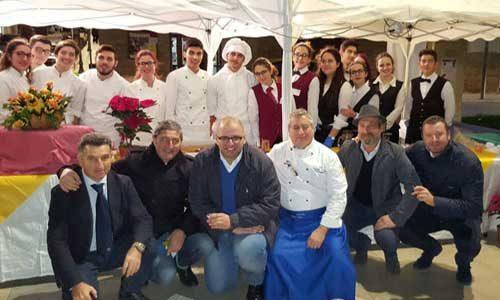 Ieri la degustazione di cuccia in piazza Scandaliato
