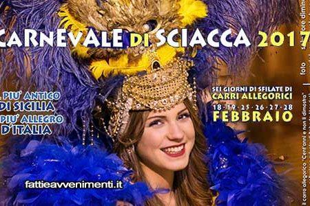 Carnevale di Sciacca 2017, ecco il programma dettagliato: Tinturia e Sangre de Cuba in concerto