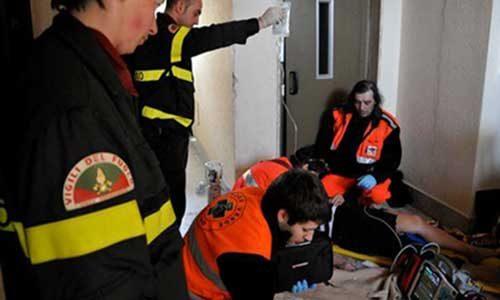 Ospedale di Sciacca. Operatore sanitario bloccato per un'ora nell'ascensore: liberato dai vigili del fuoco