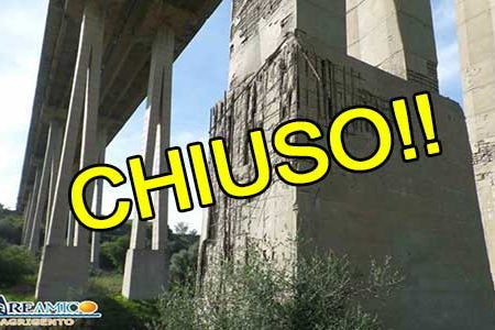 Agrigento. Ponte Morandi chiuso dal 2017 e nulla è stato fatto, mentre Genova a breve avrà il suo nuovo ponte