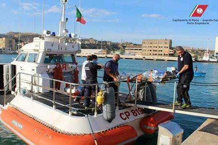 Scala dei Turchi. Cade un masso ed un turista rimane ferito: soccorso dalla Capitaneria di Porto