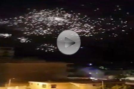 Per festeggiare la nascita del figlio, coppia esplode fuochi d'artificio sul tetto dell'ospedale e postano video su FB