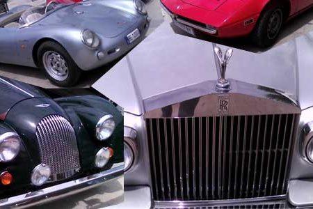 GALLERIA CON 100 FOTO – Auto d'epoca. Show in piazza Scandaliato: Rolls-Royce, Ferrari, Porsche, Maserati e tanto altro