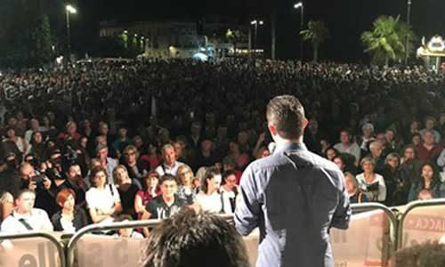 M5S: Folla oceanica per Alessandro Di Battista a Sciacca – Book Foto Evento