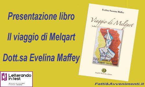 """""""Il viaggio di Melqart"""" di Maffey questa sera presentato al Letterando in Fest 2017"""