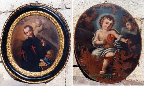 Aragona. Carabinieri ritrovano due quadri del '800 rubati dalla Chiesa Madre