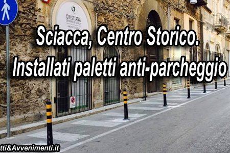 Paletti anti-parcheggio in corso V. Emanuele: Iniziativa dei commercianti con nulla osta di Monte