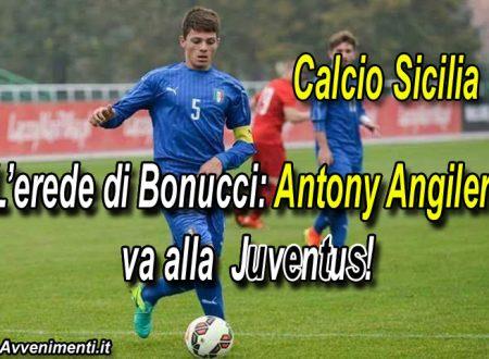 Calcio.Il giovane Antony Angileri di Castelvetrano va alla Juventus