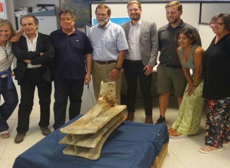 Palermo, Cultura. Presentato il rostro in bronzo della battaglia delle Egadi combattuta nel 241 a.C. tra Romani e Cartaginesi