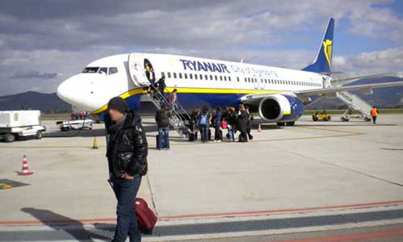 Aeroporto Birgi. Ryanair taglia 25 aerei per la stagione