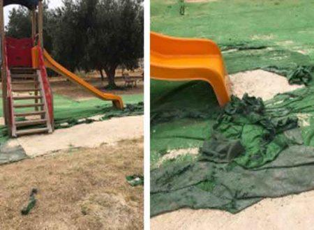 """Sciacca. M5S: """"Che fine ha fatto il tappetino per il parco giochi alla Perriera?"""" Solita promessa non mantenuta"""