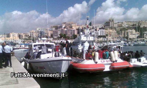 Sciacca. Migranti sbarcano nel porto di Sciacca: ecco i dettagli