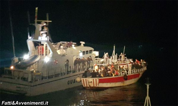 """Lampedusa. Nella notte altri 7 barconi sull'isola con 253 migranti: """"Quasi tutti tunisini"""""""