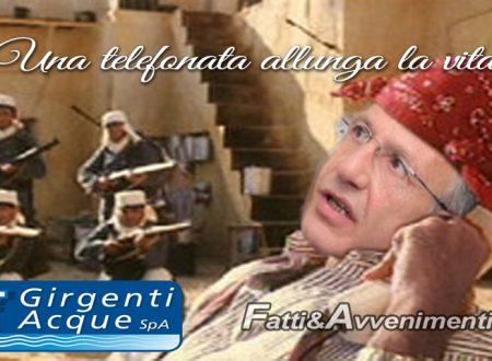 """Sciacca. Girgenti Acque fa sondaggi telefonici per valutare il servizio reso: """"Una telefonata allunga la vita?"""""""