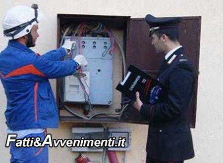 Licata (AG). Furti di acqua ed energia elettrica, blitz dei Carabinieri: 24 arresti