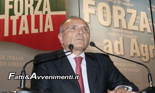 Forza Italia plaude alla Candidatura di Vicenzo Giambrone al Senato nel Collegio Uninominale di Agrigento