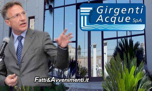 """Girgenti Acque e affidamento servizi, la società si difende: """"Bando pubblicato anche in Gazzetta Europea"""""""