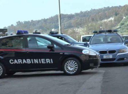 Da Enna a Caltannissetta. Polizia e Carabinieri bloccano 4 rumeni in fuga su Audi dopo folle inseguimento