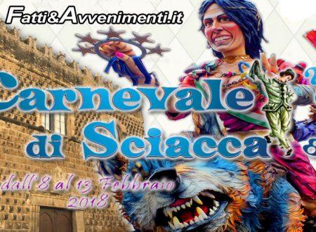 Il Carnevale di Sciacca 2018 ha due sponsor d'eccezione: Conad e Aeroporto di Palermo, ecco il manifesto