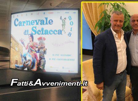 Sciacca e Carnevale: Al via la promozione all'aeroporto di Punta Raisi – Palermo