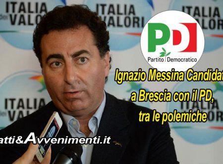 Ignazio Messina candidato a Brescia con il PD, ed anche lì fioccano le polemiche