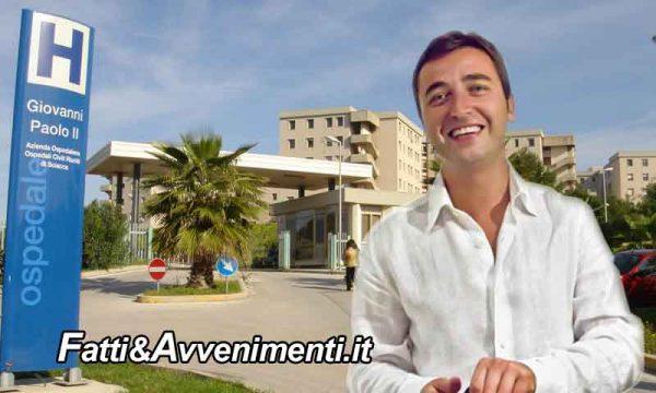 Gravi disfunzioni all'ospedale di sciacca: l'On. Catanzaro (PD) presenta un'interrogazione al governo