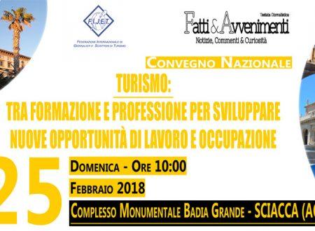 Sciacca. Domenica convegno su Turismo e Formazione Professionale con l'Ass.re Regionale Roberto Lagalla