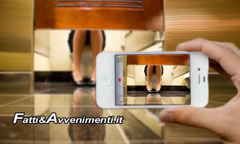 Agrigento filma donne nel bagno di uno studio medico di nascosto denunciato fatti - Spiata nel bagno ...