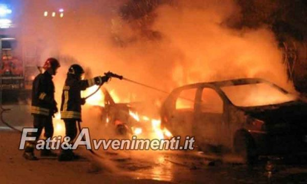 Sambuca di Sicilia. Date alle fiamme cinque auto,  quattro sono di un imprenditore 48enne