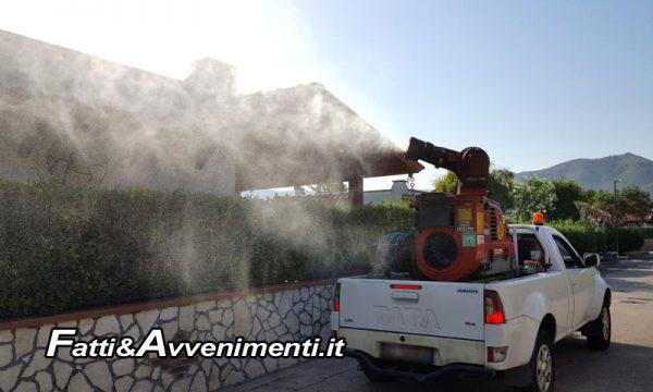 Sciacca, nuovo ciclo disinfestazione: stanotte Perriera, Foggia, San Marco e…