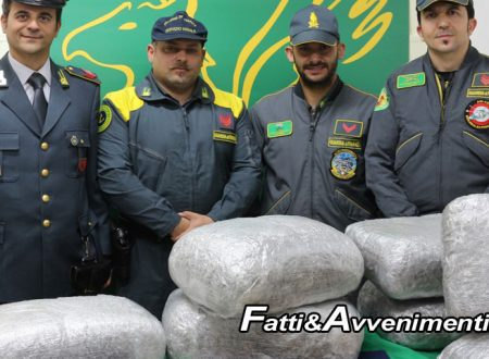 43 kg di marijuana tra gli scogli, in mare. Fiamme gialle ne sequestrano per 260mila euro